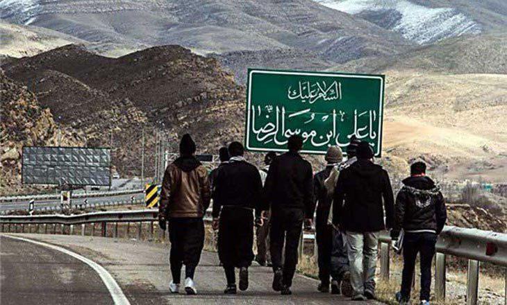 تصویر 11 هزار زائر پیاده در جاده های خراسان رضوی در حرکت هستند
