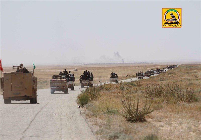 تصویر دفع حمله عناصر داعش در جنوب بعقوبه