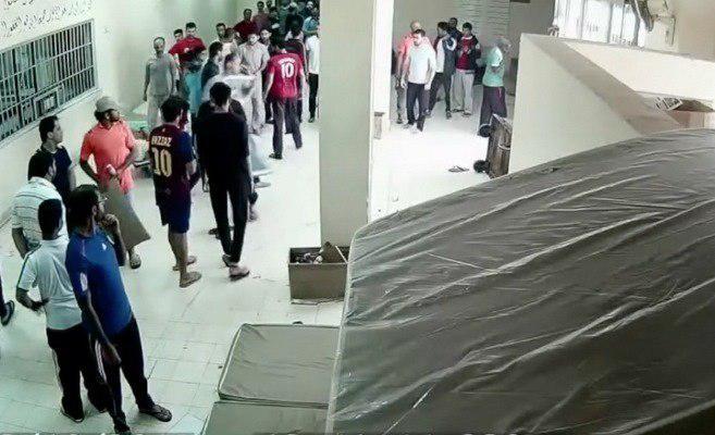تصویر زندانیان بحرینی از کمبود غذا رنج میبرند