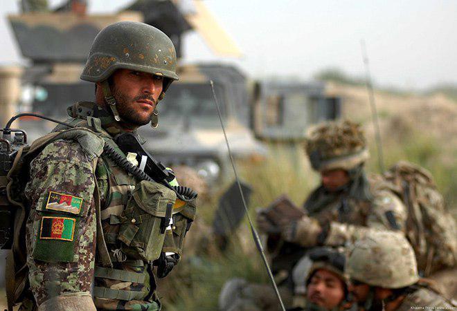تصویر هلاکت ۱۷ تن از عناصر گروه تروریستی طالبان در افغانستان