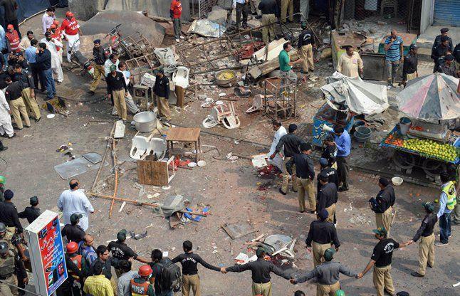 تصویر تروریست حملهکننده به شیعیان پاکستان بازداشت شد