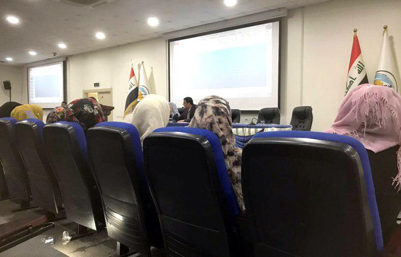 تصویر حضور انجمن فرهنگی المودة والازدهار در همایش توانمندسازی زنان در بغداد