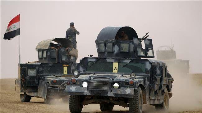 تصویر کشته شدن ۱۵ تروریست داعشی در استان صلاح الدین عراق
