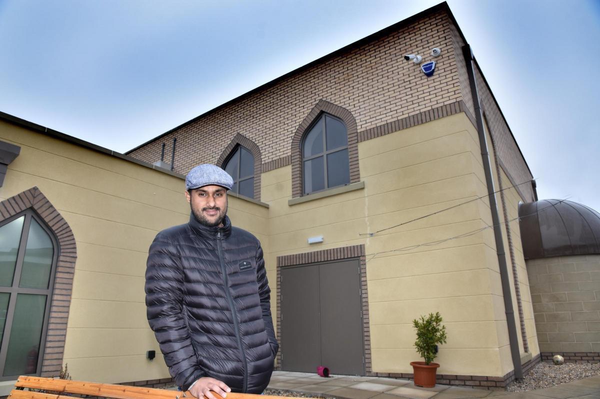 تصویر افتتاح مسجدی در شمال انگلستان
