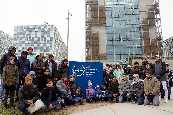 تصویر اعتراض به نسلکشی روهینگیاییها در لاهه