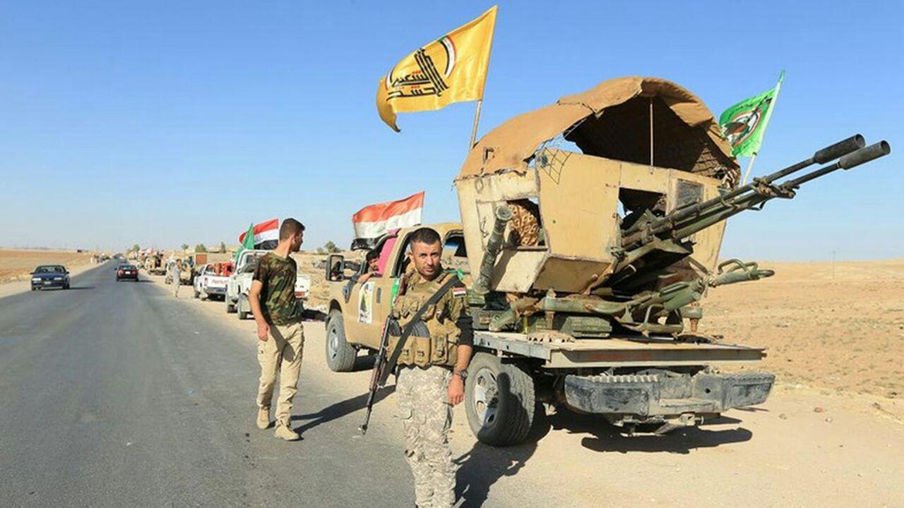 تصویر تلاش داعش برای ورود به عراق از مرز سوریه ناکام ماند