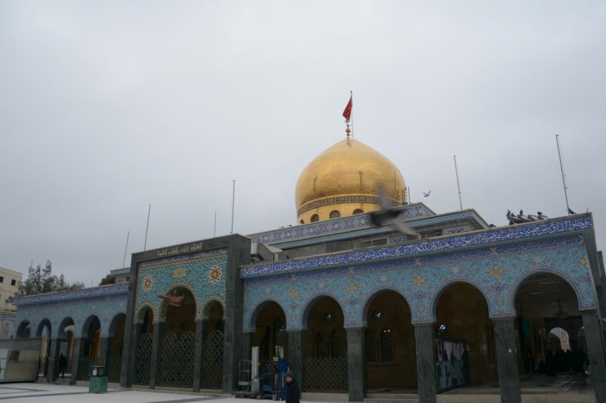تصویر آغاز پنجمین مرحله بازسازی مرقد حضرت «زینب سلام الله علیها» در سوریه