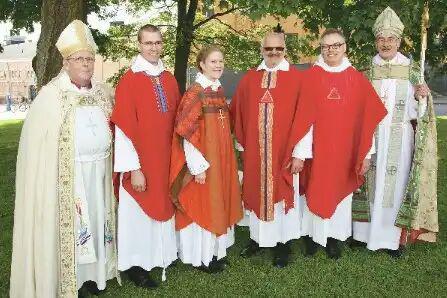 تصویر حمایت کلیسای سوئد از پخش اذان