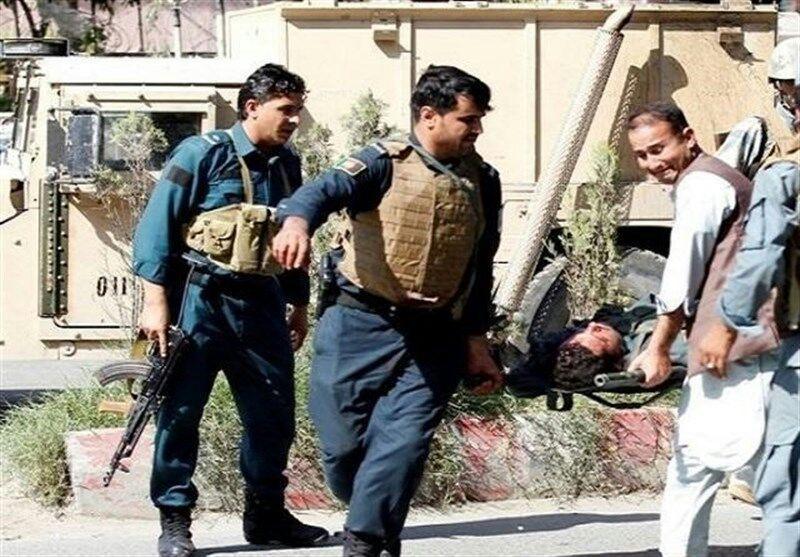 تصویر ۵ کشته در حمله عامل نفوذی به پلیس در جنوب افغانستان