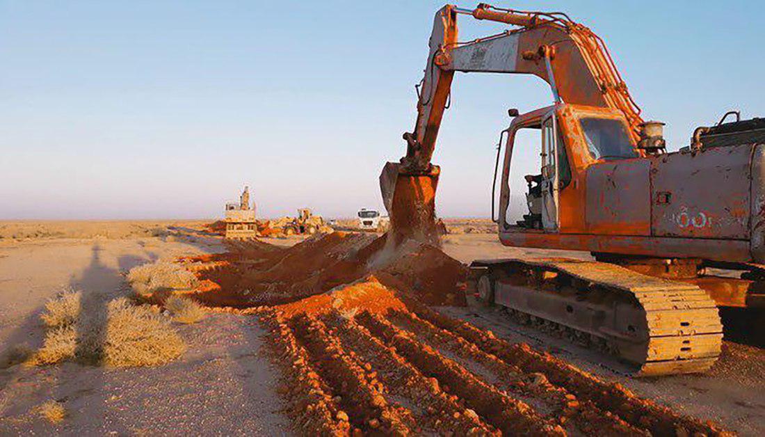 تصویر تأمین دو چندان امنیت در استان کربلای معلی با حفر خندق به طول هشتاد و پنج کیلومتر