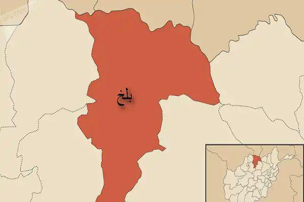 تصویر حمله به نمازگزاران مسجد ولایت بلخ افغانستان