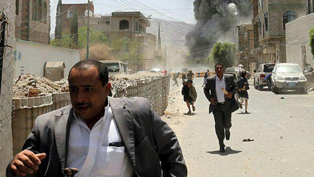 تصویر ۳۵۳ مرتبه نقض آتش بس در الحدیده توسط ائتلاف سعودی