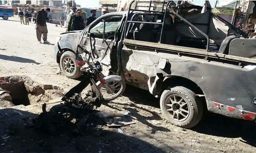 تصویر 12 مجروح در دو انفجار ایالت بلوچستان