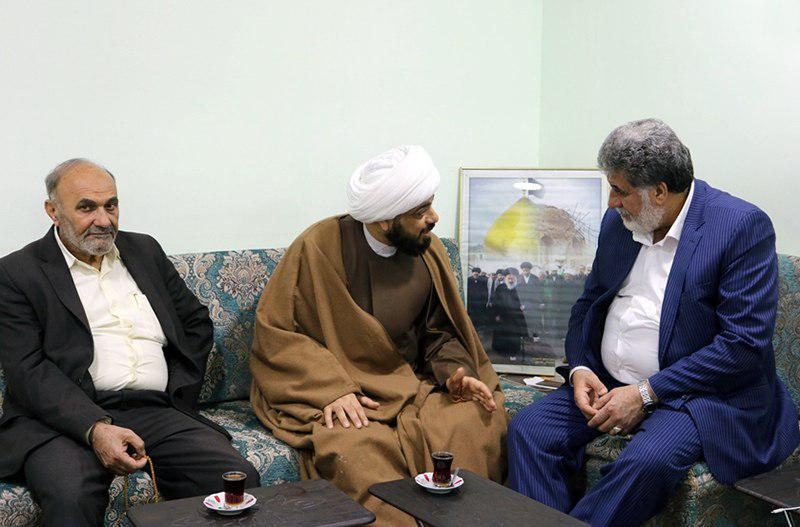 تصویر تاکید مدیر مرکز روابط عمومی دفتر مرجعیت بر لزوم مبارزه با فساد
