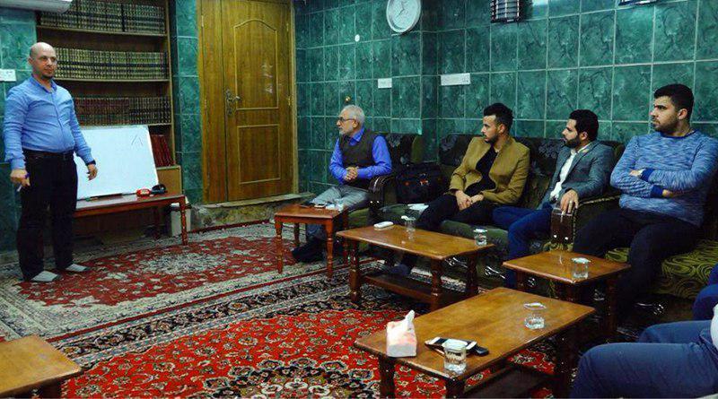 تصویر برگزاری دوره آموزشی آداب معاشرت و خودسازی فرد بازاریاب از سوی موسسه مصباح الحسین علیه السلام در کربلای معلی