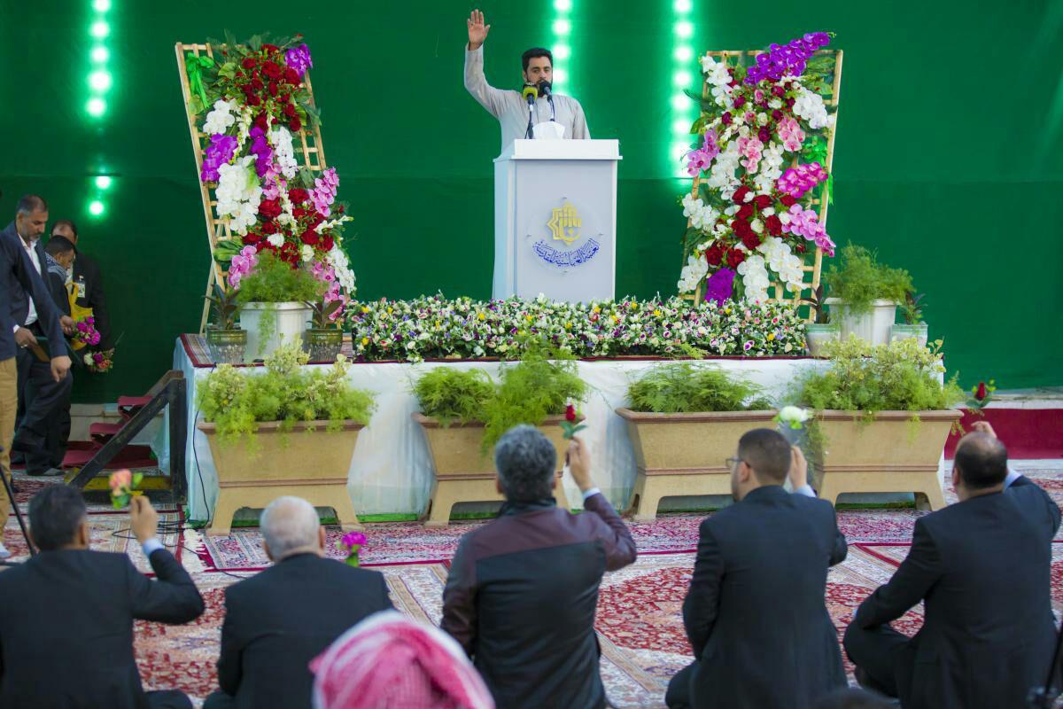 تصویر جشن میلاد حضرت زینب سلام الله علیها در آستان مقدس عباسی
