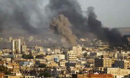 تصویر شهادت ۲ کودک و یک زن یمنی در حملات توپخانهای عربستان سعودی
