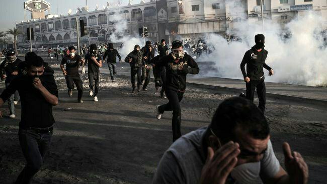 تصویر کمک مصر به آل خلیفه برای سرکوب شیعیان بحرینی