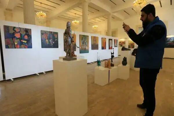 تصویر نمایشگاه هنری «بازگشت به موصل»، جنایات داعش را به تصویر درآورد