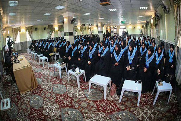 تصویر گردهمایی سراسری بانوان حافظ قرآن عراق در کربلا
