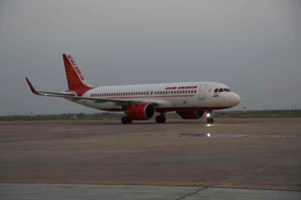 تصویر راه اندازی خطوط پرواز مستقیم دهلی-نجف پس از 29 سال