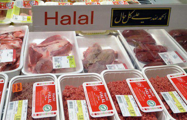 تصویر درخواست مسلمانان برای لغو ممنوعیت ذبح شرعی در بلژیک