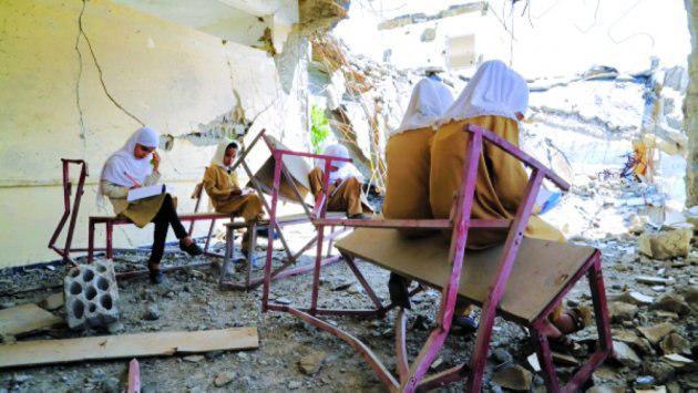 تصویر یونیسف: ۲ میلیون کودک یمنی از تحصیل محروم هستند