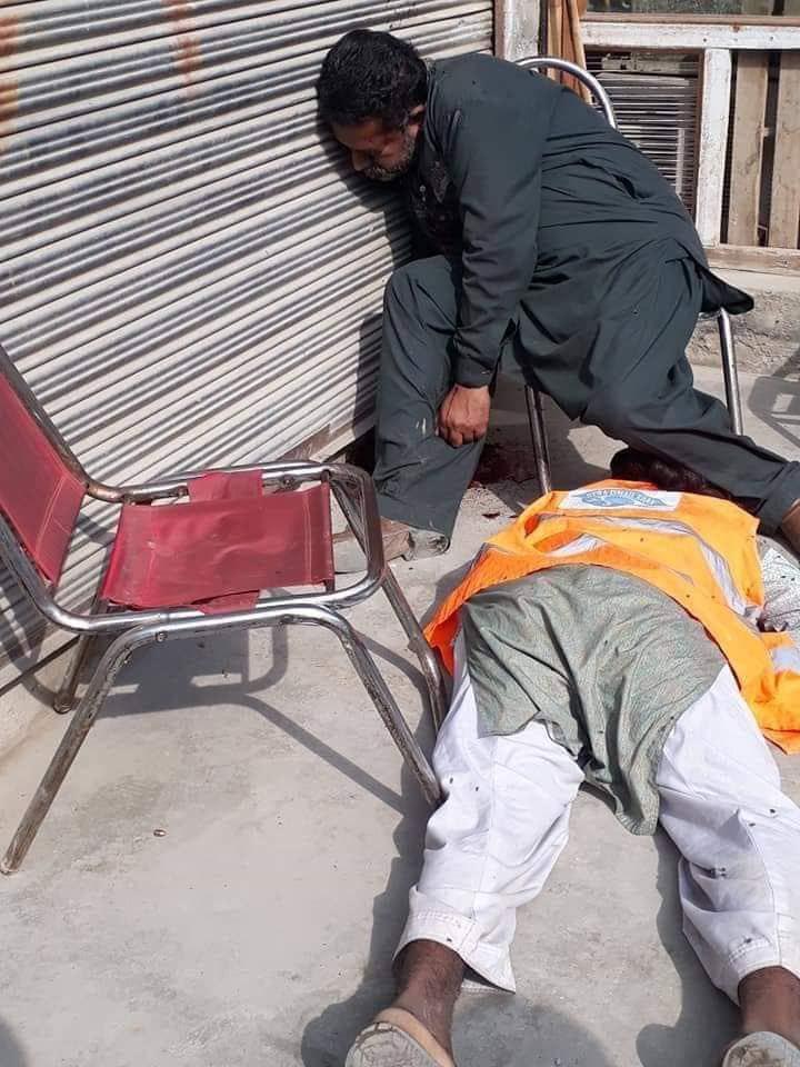 تصویر شهادت دو تن از شیعیان پاکستان به دست سنی های تندرو