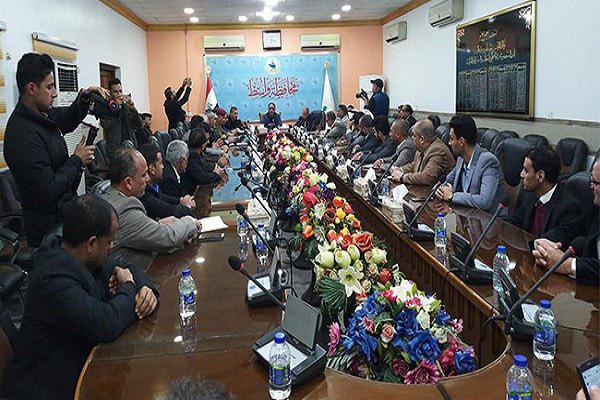 تصویر حضور ۱۵ کشور در جشنواره قرآنی «سعید بن جبیر» در عراق
