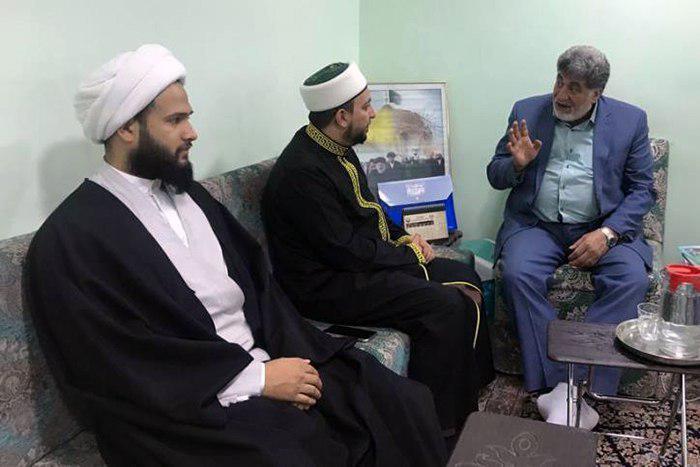تصویر تاکید مدیر مرکز روابط عمومی دفتر مرجعیت شيعه، بر اتحاد عراقی ها به دور از فرقه گرایی