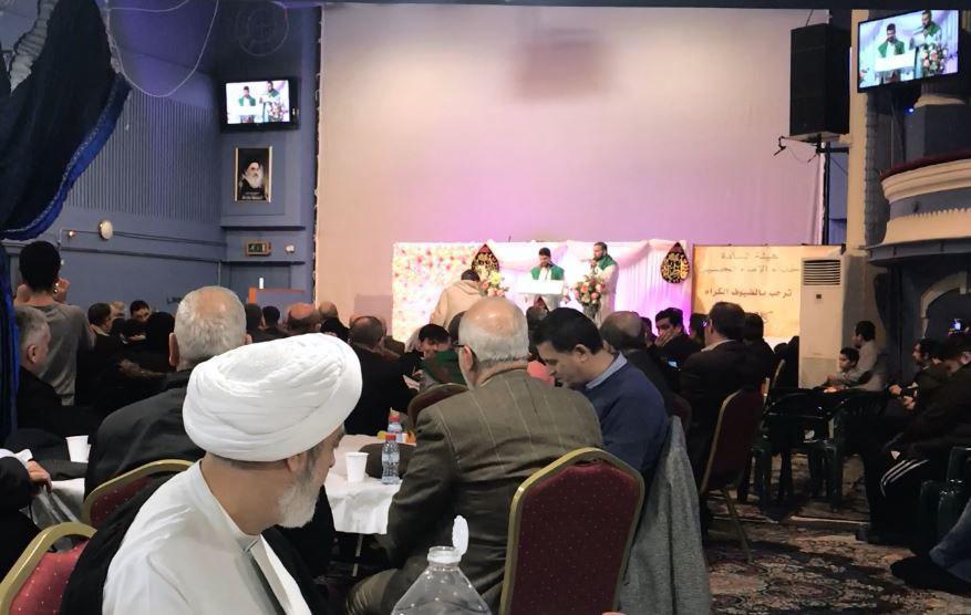 تصویر جشن میلاد حضرت صدیقه کبری فاطمه زهرا علیه السلام در پایتخت انگلستان