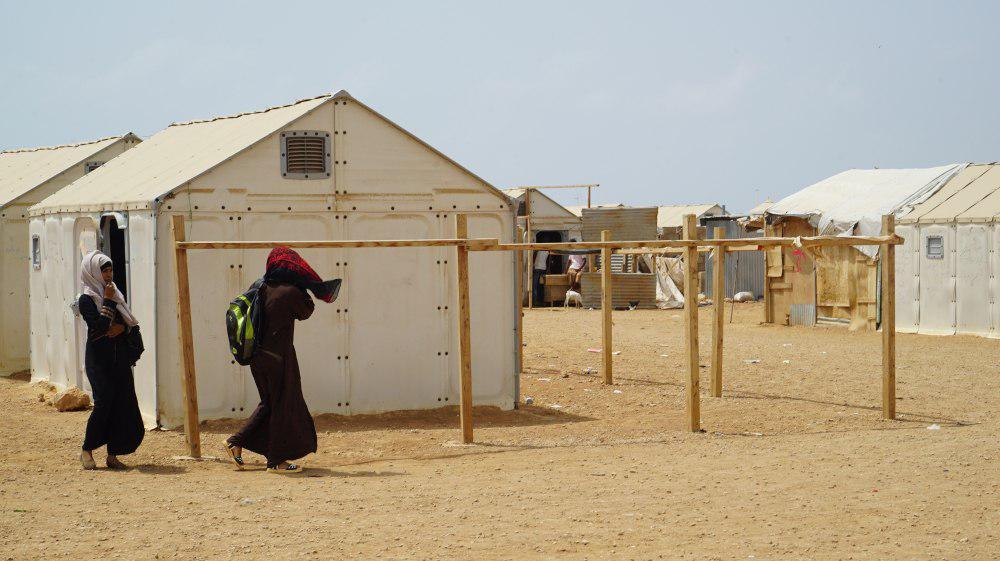 تصویر آوارگان یمنی: کمپی که عربستان ساخته مثل جهنم است