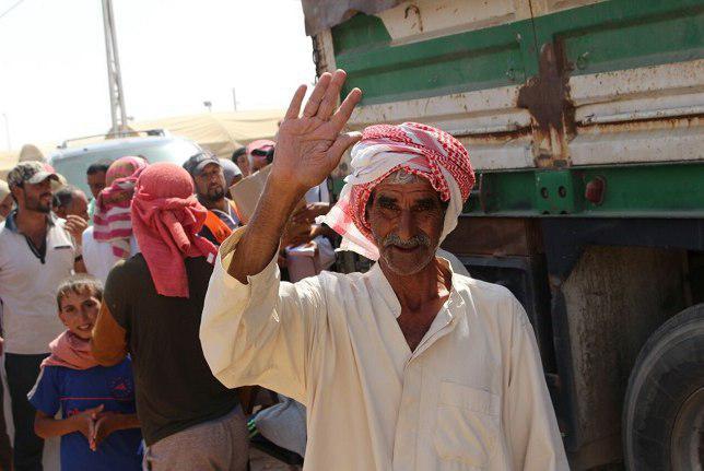 تصویر بازگشت حدود ۴ میلیون مهاجر عراقی به منازل خود