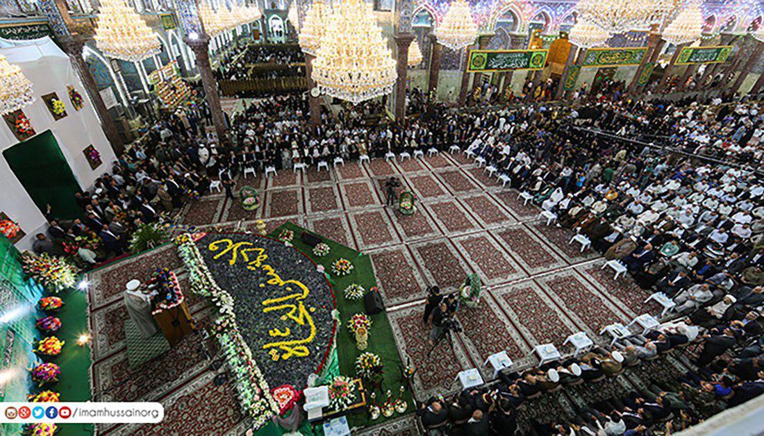 تصویر نمایندگان ادیان در کربلا گردهم میآیند