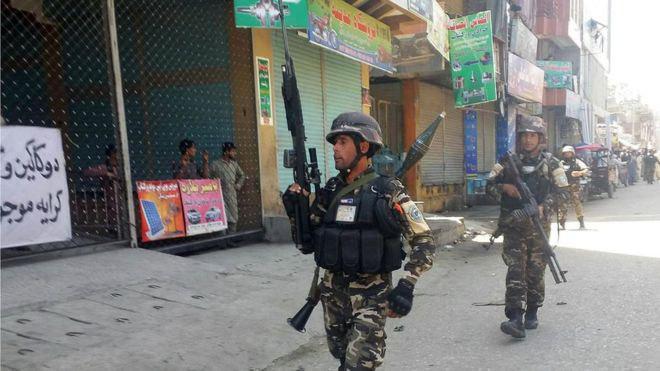 تصویر 25 قربانی در حمله تروریستی در جلال آباد افغانستان