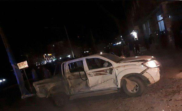 تصویر وقوع دو حمله تروریستی در هرات/شهادت یکی از فعالان شیعه هزاره