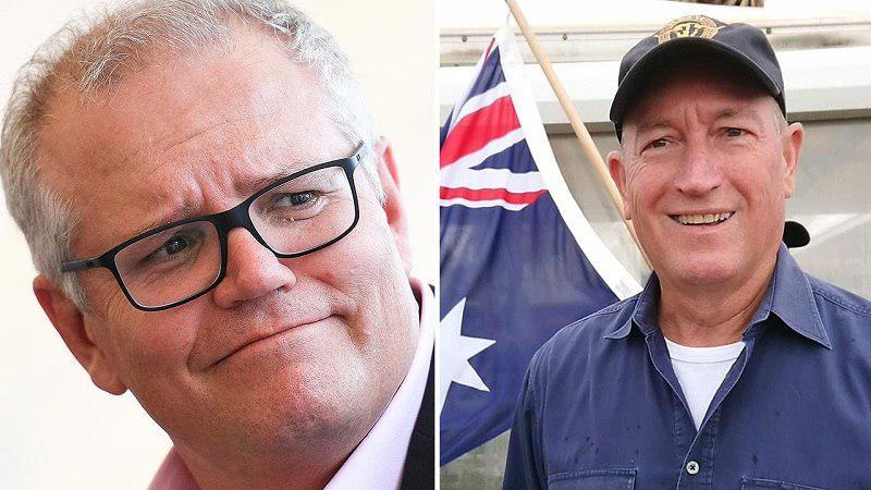 تصویر پاسخ اظهارات ضد اسلامی سناتور نژادپرست استرالیا توسط نخستوزیر این کشور