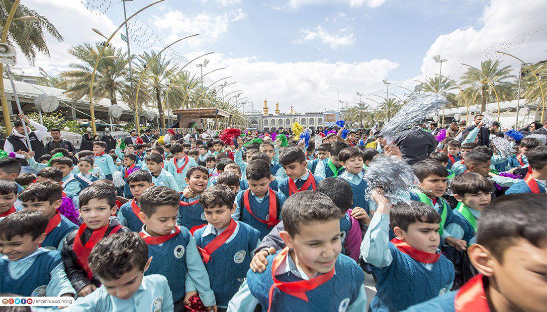 Photo of گزارش تصویری ـ اولین همایش کودکان حسینی در شهر مقدس کربلا به مناسبت میلاد حضرت علی اصغر علیه السّلام