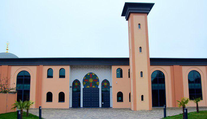 تصویر افتتاح مسجدی در شهر رنس کشور فرانسه