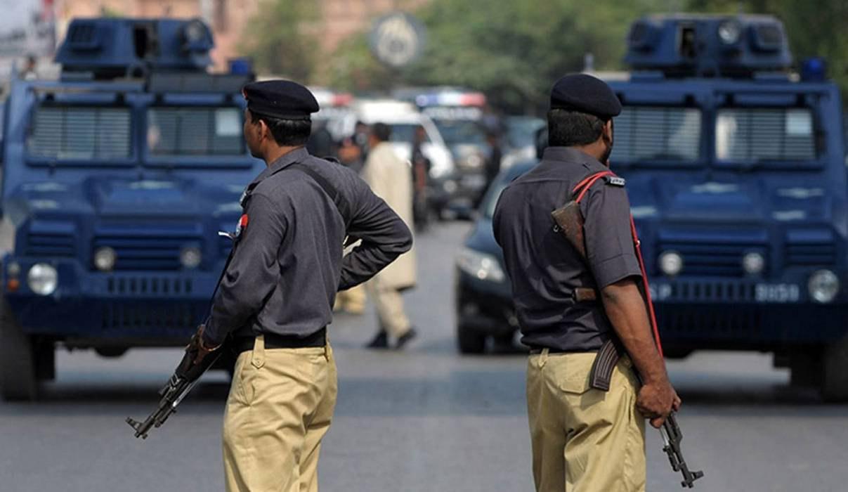 تصویر حمله تروریستی به ایست بازرسی ارتش پاکستان