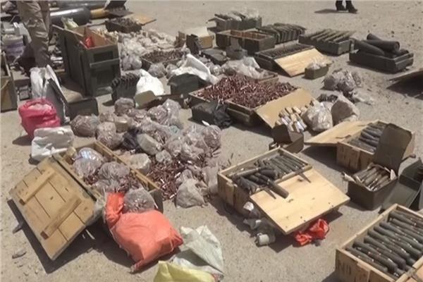 تصویر انهدام ۴ مخفیگاه داعش در «کرکوک» عراق