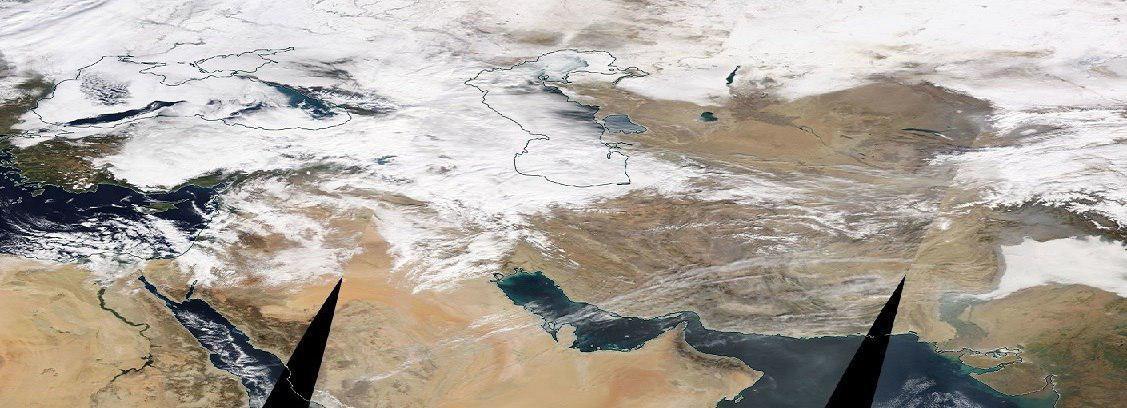 تصویر جاری شدن سیل در استان های مختلف ایران/بارش ها ادامه دارد