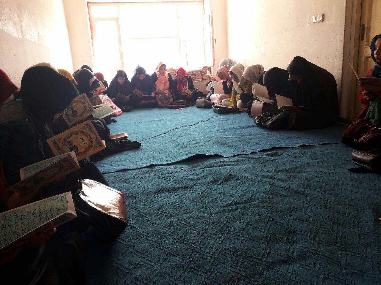 Photo of آغاز دوره های آموزشی در حوزه علمیه حضرت زهرا سلام الله علیها، در کابل