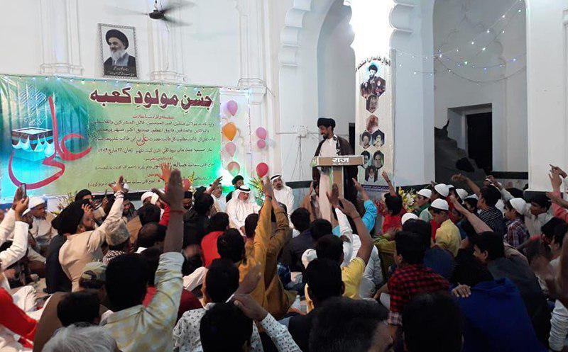 تصویر دیدار تعدادی از فعالان شیعه کویت با مسئولان مدرسه علمیه ابوطالب علیه السلام در هندوستان