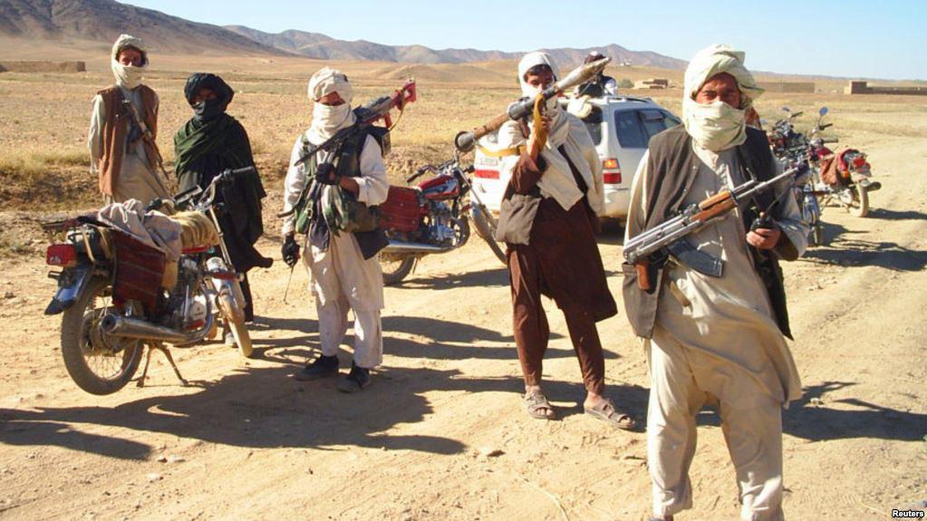 تصویر سقوط ولسوالی «ارغنجخواه» در شمال شرق افغانستان