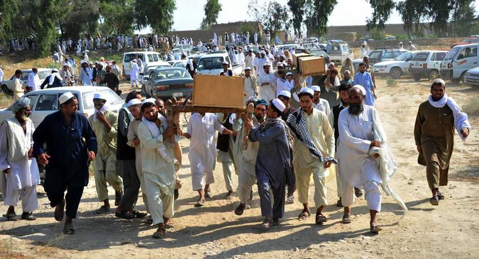 تصویر تلفات غیرنظامیان در افغانستان 3 برابر افزایش یافته است