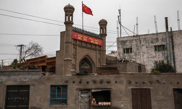 تصویر گاردین: تخریب مساجد؛ آخرین روش برای از بین بردن فرهنگ مسلمانان اویغور