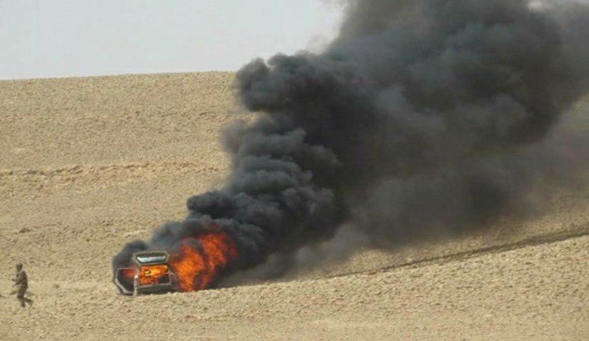 تصویر انهدام 18 مخفیگاه داعش در عراق