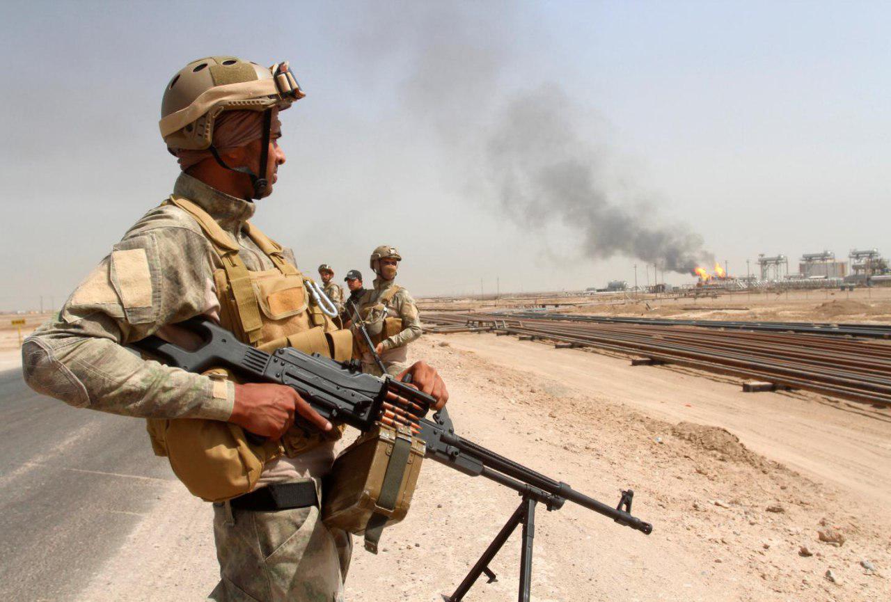 تصویر هلاکت سنی های تندرو در منطقه «تلال حمرین» عراق