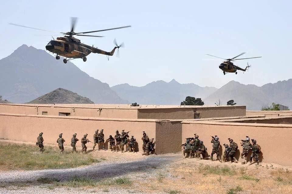 تصویر هلاکت ۱۷۱ عضو طالبان در افغانستان